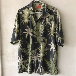 Tommy Bahama Men's Silk Shirt XL